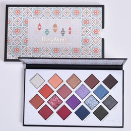 maquiagem molhada Desconto Alta Qualidade 18 cores Sombra Tray Palette Maquiagem Diamante Molhado Pós beleza Cosméticos Ferramenta