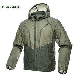 d9928a6572b FREE SOLDIER outdoor sports camping tactical military men s shirt skin coat uv  shirt sun protection clothes long sleeve
