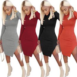 Las mujeres se despojaron del vestido de fiesta de la manera atractiva del color sólido vestido del club nocturno del partido vestidos casuales mini vestido vestidos Robe ropa para mujer desde fabricantes