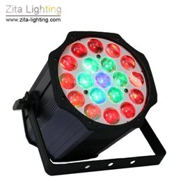 sound equipment wholesalers Promo Codes - Zita Lighting 19X10W Par Lights LED RGBW Par Cans 4IN1 Wall Washer Stage Equipment Private Party Disco Club Bar Event Light Effect