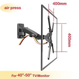 Wholesale holder tv - NB F350 40inch 42inch 46inch 50inch retractable air press aluminum swivel LCD PLASMA tv bracket lcd wall mount led stand holder