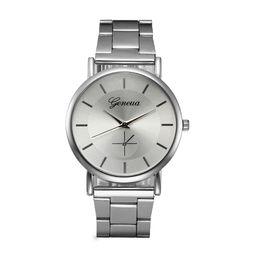 2019 женва часы женщины серебристый  Watch Women Watches Geneva Stainless Steel Clock Silver Analog Bracelet Quartz Watch дешево женва часы женщины серебристый