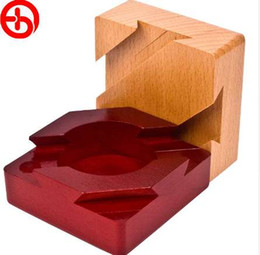 Casella 3d magica online-3D Russia Ming Luban Magic Box Giocattolo Educativo Legno Educativo Puzzle Per Adulti Bambini Rompicapo Bambini Regalo Di Compleanno Caldo