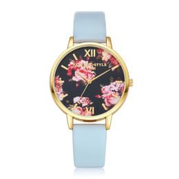 Gofuly женщины цветок дамы платье часы Топ люксовый бренд старинные наручные часы дамы кожа кварцевые часы hodinky reloj mujer от