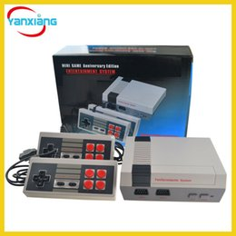 Wholesale Gaming Consoles - 20pcs Wholesale New Arrival Gameboy TV Video Mini Handheld Game Console Model for NES 500 620 Gaming Consoles DHL YX-NES-01