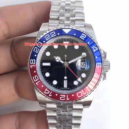 2019 movimento eta 2836 Migliore qualità GM Factory 90L acciaio 40 millimetri GMT 126710 126710BLRO Pepsi Jubilee braccialetto svizzero ETA 2836 movimento automatico Mens orologi movimento eta 2836 economici