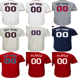 Wholesale Names Personal - Newest Customized Mens Womens Kis Toddlers Minnesota Jersey Flex Cool base personal Any name NO.Baseball Jerseys