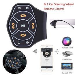 Volante del pulsante online-Pulsante Bluetooth controller verricello 12V senza fili Bluetooth Steering macchina di riproduzione multimediale Wheel Control Sulla vettura di controllo remoto