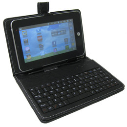 comprimés de peau claire Promotion GTFS-Hot Sale MK-200 Clavier universel et étui pour tablettes 7 pouces MK-200