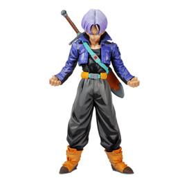 Wholesale Figures Manga - No Box Dragon Ball Z MSP The Trunks Manga dimensions pvc Action Figure 25CM