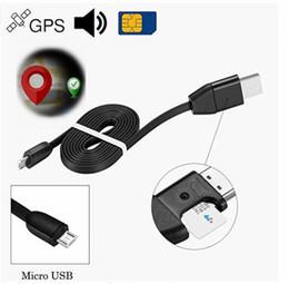 alarme de zone à la maison Promotion 1M USB 3 IN 1 Câble de chargement et de suivi de données pour IOS et Android Mini GPS Tracker Données de charge Câble support Carte SIM