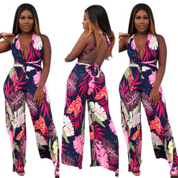 7fb4b9e7e5 Sexy Rompers Womens Jumpsuit 2018 Printed Floral Night Out Clubwear Sexy  Deep V Neck Casual Playsuit Bodysuit Beach Wear Jumpsuit Romper sexy  jumpsuits wear ...