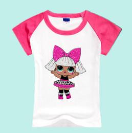 Por encargo 67723 Niños de dibujos animados lol muñecas Camisetas Niños Verano Ropa de bebé BHYCJ240 desde fabricantes