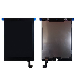 Pantalla táctil ipad air original online-BM Original para pantalla de Apple ipad air 2 Lcd con digitalizador de pantalla táctil para ipad 6 ipad air 2 A1567 A1566 negro blanco