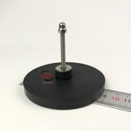Gps-антенна онлайн-2PC 2кг Автомобиль лодка Магнитное крепление базы неодимовый магнит Pot D88mm Rubber покрытием Спутниковая антенна GPS трекер Открытый Resistance