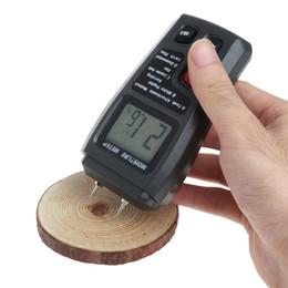 medidor húmedo Rebajas Analizador de humedad de madera digital Analizador de humedad Probador de humedad de la madera Hygrometer 2 Pin Tester Tools