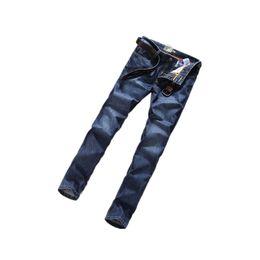 aad3e915e homens azul escuro jeans Desconto 2018 hot Autêntica Lee ® Mens Designer de  Calças de Brim
