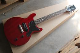 Wholesale Guitar Pickups White - Top Quality G LP Custom Art HSTORC Junior P90 Pickup wine red CS Active pickups Electric Guitar 6 strings