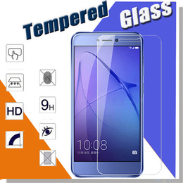 Wholesale Pro Mates - Tempered Glass 9H Explosion Proof Premium Protective Film Clear Screen Protector For Huawei P20 Pro P10 Plus Lite Mate 9 Lite Honor 9 V9 5X