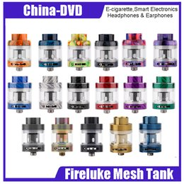 Wholesale glass mesh - Origianl Freemax Fireluke Mesh than atomizer 3ml Fireluke Mesh Atomizer with Mesh Coil Massive Cloud Top Refill Adjustable Bottom Airflow