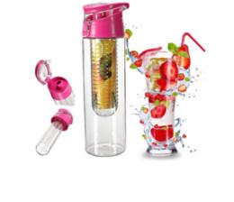 Flasche füllen online-700ml Bpa frei Obst infundiert Infuser Wasserflasche Shaker Sportflaschen Zitronensaft Flasche Gesundheit umweltfreundlich Bpa frei