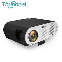 Wholesale Business Building - GP90UP LED Android Projector 3200 Lumen GP90 Projector Built-in Bluetooth WIFI Beamer Proyector Support AC3 LED TV