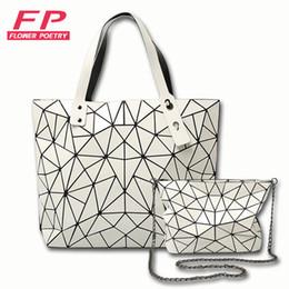 Wholesale Chocolate Diamonds - Flower Poetry Diamond Lattice Women Bao Bao Bags Geometry Laser baobao Handbag Women Bag BAOBAO Totes Shoulder Bag Ladies Bolsa