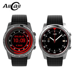 часы 2gb Скидка ALLCALL W1 Smartwatch Phone Android 5.1 Wifi 3G Connection MTK6580 Quad Core 1.3GHz 2GB/16GB GPS Smart Watches Phone