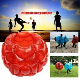 Juegos infantiles pelota online-Cuerpo inflable Bola de parachoques de PVC Burbuja de aire 90 cm Al aire libre Juego de Niños Burbuja Buffer Bolas Juegos al aire libre OOA4915