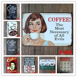 Canada Café Vintage Signes D'étain Rétro En Métal Signe Antique Imitation De Fer Plaque Peinture Décor Le Mur De Bar Café Pub Shop cheap antiques shops Offre