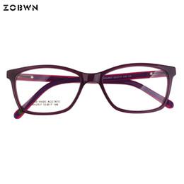252d374c48 ZOBWN eyeglasses Vintage Ladies Eyeglasses Glasses Frame Design Glasses  Women Eyewear Frames Optical Spectacle Frame colors pink