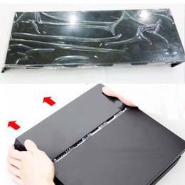 Argentina Estuche para unidad de disco duro HDD universal, negro brillante para Playstation 4 PS4 placa frontal CUH-1000 a 1200 con logotipo Silver Suministro