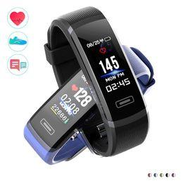"Wholesale Fitness Hours - New 0.96"" Color Screen Smart Bracelet GT101 Waterproof 24 hour Heart Rate Monitor Fitness Tracker Bluetooth SmartWatch Sport Smart Wristband"