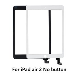 Wholesale Ipad Air Tools - Wholesale- KEFU Original Tablet Touch Panel For iPad air 2 A1566 A1567 Touchscreen Front No Home button With tools gift