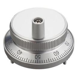Generador electronico online-Kit de manija de volante de pulso CNC 5V Máquina de coser de generador de pulso manual 60mm Codificador rotativo Resolución electrónica CPR 25,100