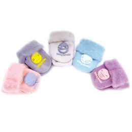 Wholesale thick boys socks - New Winter Thick Baby Terry Socks Warm Newborn Cotton Boys Girls Cute Toddler Floor Socks Smiley Shoe