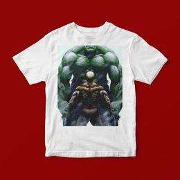 de8ca04e6f1 Camisas unisex baratas online-HULK VS WOLVERINE CAMISETA UNISEX 321 Moda  Hombre manga corta venta