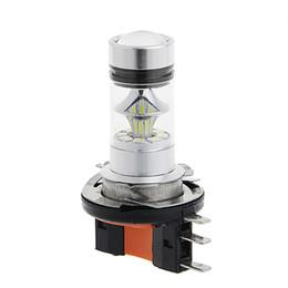 Luces de conducción de bmw online-H15 100W 20LED de alta potencia para VW Audi Mercedes BMW Proyector Coche niebla Conducción diurna bombillas