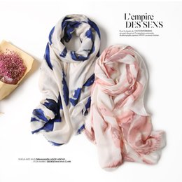 Wholesale Wholesale Linen Summer Scarves - 2018 Spring and Autumn new travel wild fashion literary fresh cotton linen scarves summer long sun shawl students scarves DF23
