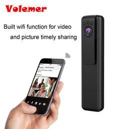 Wholesale Pen Infrared - Volemer Mini Wifi Camera HD 1080P 720P HD Micro Camera Infrared Night Vision Recording Pen Mini DV DVR Cam pk SQ8 SQ11