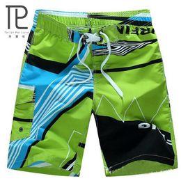 Abbigliamento sartori online-Tailor Pal Love HOT Quick Dry Uomo Pantaloncini Estate di marca Abbigliamento casual Pantaloncini geometrici Pantaloncini da spiaggia da uomo