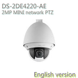 Wholesale Hd Ds - In stock Free shipping english version DS-2DE4220-AE CMOS 720P 2MP HD 4Xoptical hd speed dome mini ptz security camera