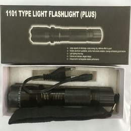 Wholesale New Led Lighting - Hot Sale New 1101 1102 Type Edc Linternas Light LED Tactical Flashlight Lanterna Self Defense Torch Free Shipping