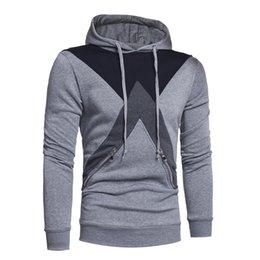 Wholesale Irregular Pattern - New Mosaic Hooded Hoodies Warm Sets Irregular Pattern Sweatshirt Warm Outside Wear Hoodies
