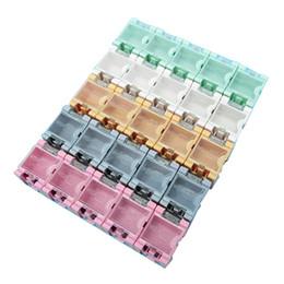 Wholesale Plastic Parts Storage Box - 50 pcs SMD SMT Electronic Parts Mini Storage Box High Quality and Practical Jewelry Storaged Case