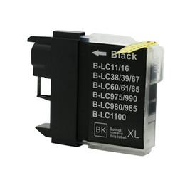 Canada 1pc cartouches d'encre d'imprimante noir LC11 LC16 LC38 LC980 LC1100 compatible pour Brother DCP-6690CW DCP-6690CN DCP-J515N DCP-J315W cheap ink dcp Offre