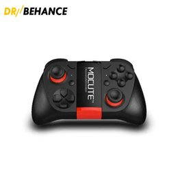 Wholesale Iphone Gamepad Bluetooth - 50X MOCUTE 050 Gamepad Joystick Bluetooth Controller Selfie Remote Control Shutter Gamepad for iPhone Andriod hot DHL free shipping
