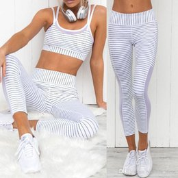 Wholesale Spot Tights - Black White Spot Printed Stripe Mesh Patchwork High Elastic Waist Leggings Stretch Skinny Pencil Long Pants Trousers Tight Top Selling