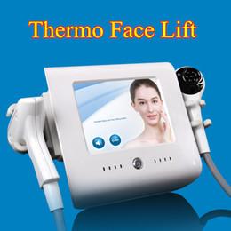 Wholesale lifting bag - focused rf thermos lift rf skin tightening face lifting machine eye bag removal rf beauty equipment