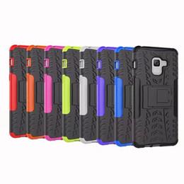 ShockProof Case Hybrid Pour LG V30 Pour Samsung Galaxy C7 pro A8 Plus 2018 Béquille Armure Dur Plastique Dur + Doux TPU Défendre Gel Peau ? partir de fabricateur